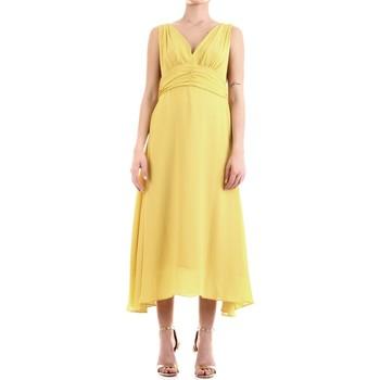 Vêtements Femme Robes longues Fly Girl 9845-01 chaux