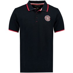 Vêtements Homme Polos manches courtes Geographical Norway Polo Homme Kalway Noir