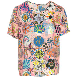 Vêtements Femme T-shirts manches courtes Paul Smith Top rose