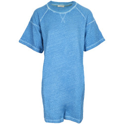 Vêtements Femme Robes courtes Paul Smith Robe Sweat Coton Délavé bleu