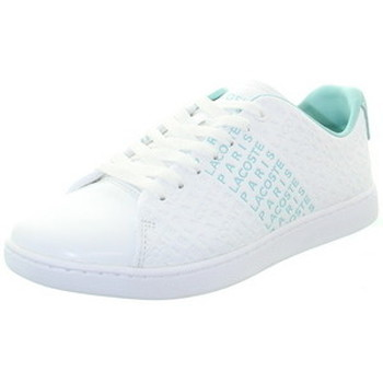 Chaussures Femme Baskets basses Lacoste Baskets  ref_49032 White blanc