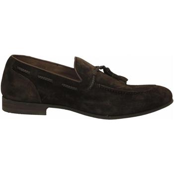 Chaussures Homme Mocassins Brecos CASHMIRE testa-di-moro
