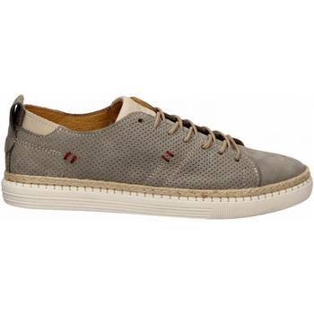 Chaussures Homme Derbies Café Noir SNEAKER ALLACCIATA IN NABUK 400-silver