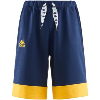 Vêtements Homme Shorts / Bermudas Kappa AUTHENTIC SAND COLLIDE 906-blue-md-yellow