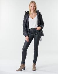 Vêtements Femme Pantalons 5 poches Emporio Armani 6H2J20 Noir