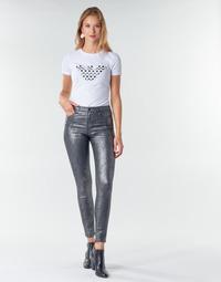 Vêtements Femme Pantalons 5 poches Emporio Armani 6H2J20 Gris / Argent