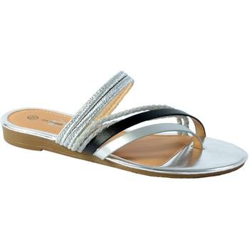Chaussures Femme Sandales et Nu-pieds The Divine Factory Entredoigt Noir