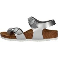 Chaussures Fille Sandales et Nu-pieds Birkenstock - Taormina argento 1017923 ARGENTO