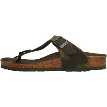 Chaussures Garçon Tongs Birkenstock - Gizeh verde 1015597 VERDE