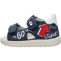 Chaussures Garçon Sandales et Nu-pieds Falcotto - Sandalo blu NORTE-1C49 BLU