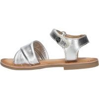 Chaussures Fille Sandales et Nu-pieds Gioseppo - Sandalo argento MALABAR ARGENTO