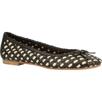 Chaussures Femme Ballerines / babies Kickers Batika Noir
