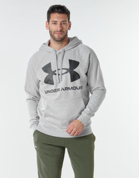 Vêtements Homme Sweats Under Armour UA RIVAL FLEECE BIG LOGO HD Gris clair