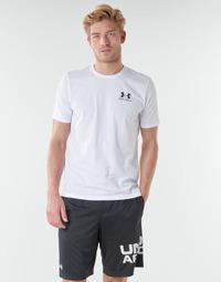 Vêtements Homme T-shirts manches courtes Under Armour SPORTSTYLE LEFT CHEST SS Blanc