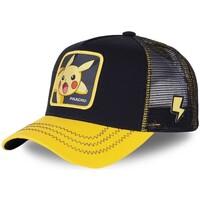 Accessoires textile Garçon Casquettes Capslab Casquette Junior  Pokemon Pikachu Noir