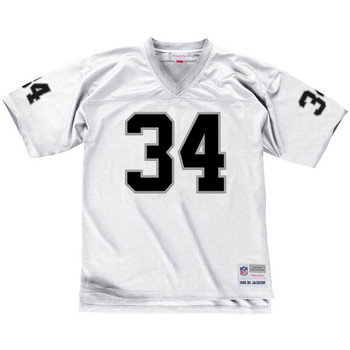 Vêtements T-shirts manches courtes Mitchell And Ness Maillot NFL Bo Jackson Los Ang Multicolore