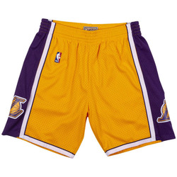 Vêtements Homme Shorts / Bermudas Mitchell And Ness Short NBA Los Angeles Lakers 1 Multicolore