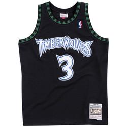 Vêtements Homme Débardeurs / T-shirts sans manche Mitchell And Ness Maillot NBA Stephen Marbury Mi Multicolore