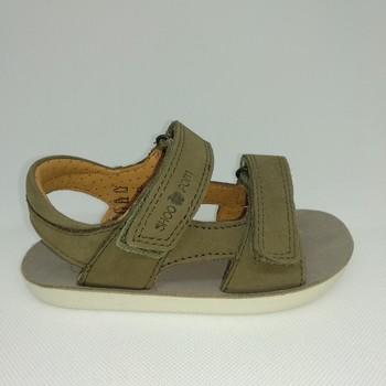 Chaussures Garçon Sandales sport Shoo Pom GOA BOY SCRATCH vert