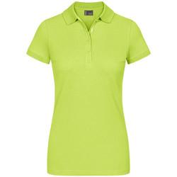 Vêtements Femme Polos manches courtes Promodoro EXCD Polo Femmes vert pomme