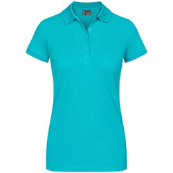 Vêtements Femme Polos manches courtes Promodoro EXCD Polo grandes tailles Femmes vert jade