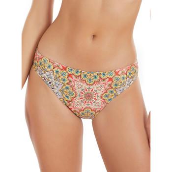 Vêtements Femme Maillots de bain séparables Selmark Bas maillot de bain bikini Mandala  Mare Jaune