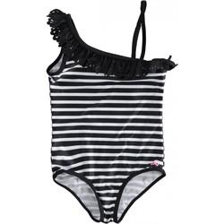 Vêtements Fille Maillots de bain 1 pièce I Do Maillot de bain 1 pièce rayé asymétrique Noir