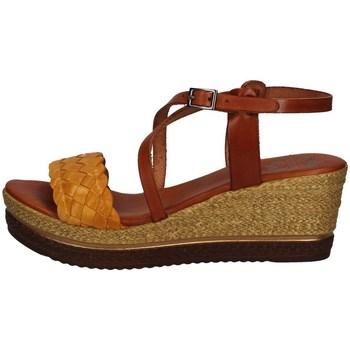 Chaussures Femme Sandales et Nu-pieds Porronet FI2541 JAUNE