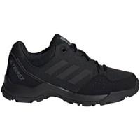 Chaussures Enfant Randonnée adidas Originals Terrex Hyperhiker Low K Noir