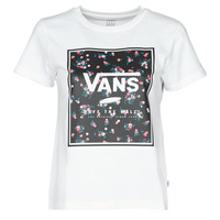 Vêtements Femme T-shirts manches courtes Vans BOXED IN BOXY Blanc