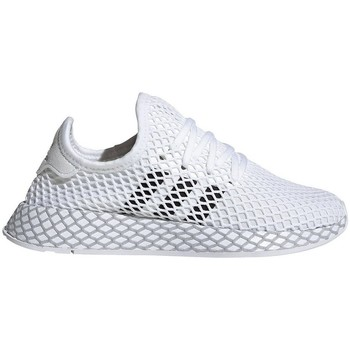 Chaussures Garçon Running / trail adidas Originals Deerupt Runner Junior Blanc