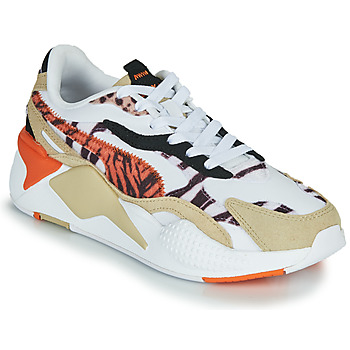 Chaussures Femme Baskets basses Puma RS-X3 WILD Blanc / Multicolore