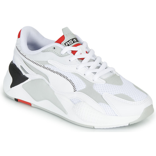 Chaussures Baskets basses Puma RS-X3 Blanc / Rouge