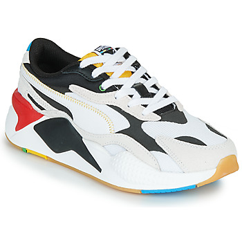 Chaussures Baskets basses Puma RS-X3 Unity Collection Blanc / Noir / Rouge