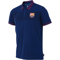 Vêtements Homme Polos manches courtes Weeplay Polo FC Barcelone Logo bleu/rouge