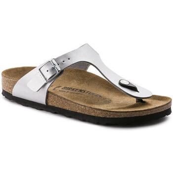 Chaussures Femme Tongs Birkenstock gizeh Argent