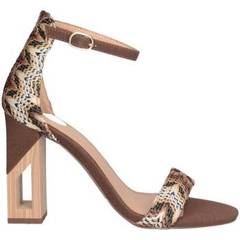 Chaussures Femme Sandales et Nu-pieds Exé Shoes RENATA-822 marron