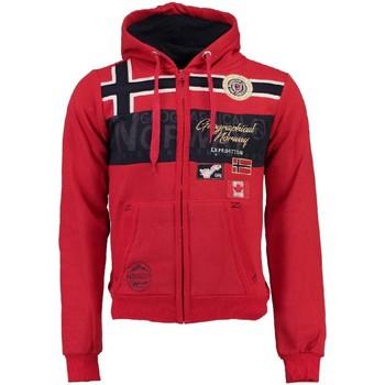 Vêtements Homme Sweats Geographical Norway Sweat Homme Garadock Rouge