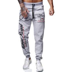 Vêtements Homme Pantalons de survêtement Cabin Jogging homme fashion Jogging 3628 gris Gris