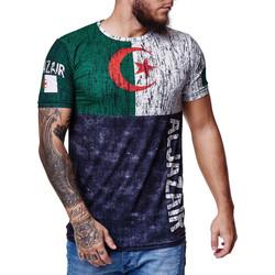 Vêtements Homme T-shirts manches courtes Cabin T-shirt Algérie pour homme T-shirt Aljazair gris Gris