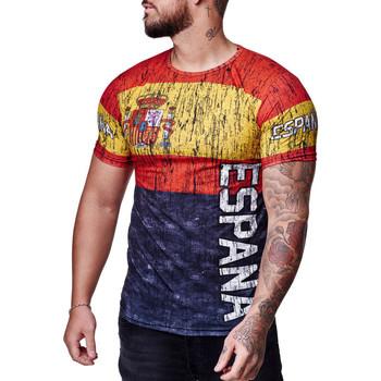 Vêtements Homme T-shirts manches courtes Cabin T-shirt homme Espagne T-shirt Espana gris Gris