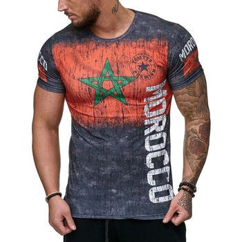 Vêtements Homme T-shirts manches courtes Cabin T-shirt Maroc pour homme T-shirt Morocco gris Gris