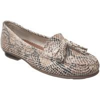 Chaussures Femme Mocassins Moc's 16j076 Beige cuir