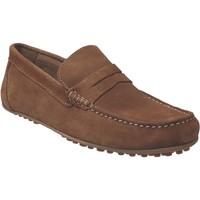 Chaussures Homme Mocassins Moc's 14j198 Marron velours