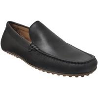 Chaussures Homme Mocassins Moc's 19j083 Noir cuir