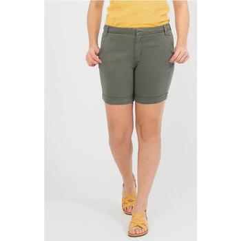Vêtements Femme Shorts / Bermudas TBS FUBILBUR vert