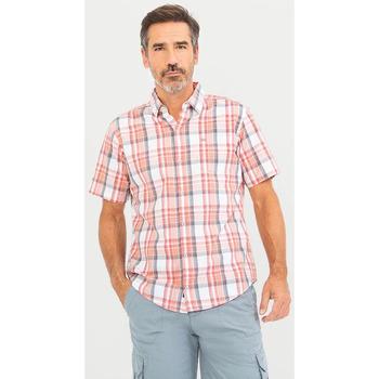 Vêtements Homme Chemises manches courtes TBS MEDIACHE Rose
