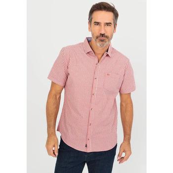 Vêtements Homme Chemises manches courtes TBS ASSURCHE Orange