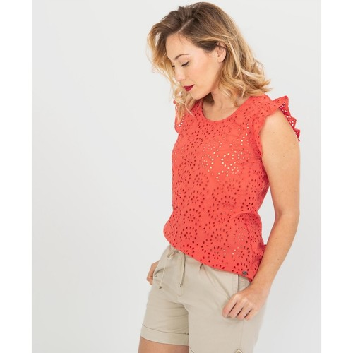Grande vente HOLLYMIS  TBS  tops / blouses  femme  rouge