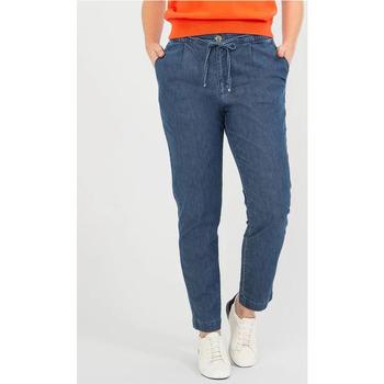 Vêtements Femme Jeans droit TBS MELOEPAN Bleu